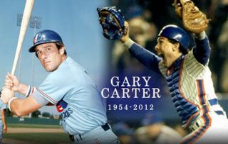 New York Mets Cooperstown Collection Gary Carter 8 T Shirt M NY Storm