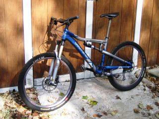 Gary Fisher Full Suspension Mountain Bike with Roscoe III Frame