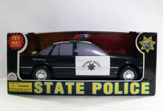Funrise State Police Series California Highway Patrol Police Car w