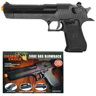 Licensed Desert Eagle 50AE Green Gas Airsoft Hand Gun