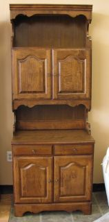 Vintage Ethan Allen Hutch at The Raleigh Furniture Gallery