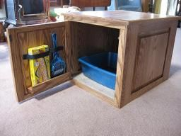 Cat Litter Concealment Cabinet Box Fine Cat Furniture