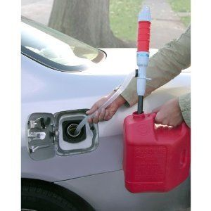 Transfer Siphon Pump Battery Powered Gas Tank Oil Water Fish