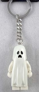 Lego Monster Fighters Ghost Key Chain New