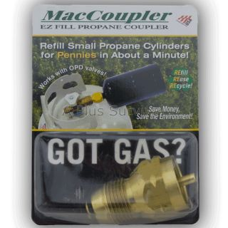 Propane Tank Gas Refill Adapter for Stoves Lanterns
