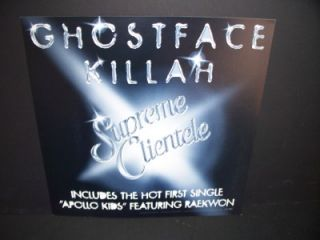 Ghostface Killah Rap Hip Hop Promo Album Poster Flat