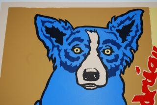 FTI George Rodrigue Blue Dog Gallery Edition II RARE Print 1990
