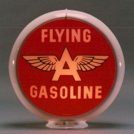 Flying A Gasoline Gas Pump Globe Sign 13 5 Adv Signs
