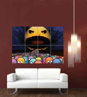 Pacman Retro Game Giant Wall Poster Print G655