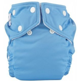 Fuzzi Bunz One Size Pocket Diaper Big Sky Cloth Diapers Blue Diapers