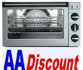 New Waring 1 2 Half Size Electric Convection Oven WCO500 Rotisserie