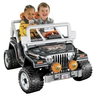 12 V Power Wheels Jeep Wrangler Ride on Toys Powered Riding Toy for