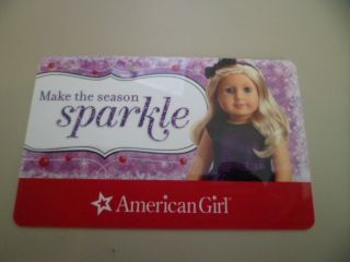 American Girl Gift Card with $25 00 Balance
