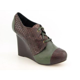 Georgina Goodman Penny 1 Womens Size 5 Brown Animal Print Leather