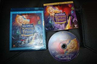 DVD Blu Ray Disney Sleeping Beauty 50th Anniversary Platimum 3 Disc