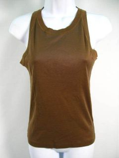 GABRIELLE STREHLE Green Tank Top Shirt Size S