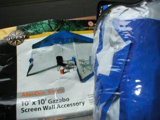 Gazebo Mosquito Netting 10 x 10 Screen Wall Accessory