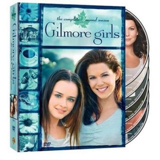 Gilmore Girls The Complete Second Season DVD 2004 6 Disc Set Make
