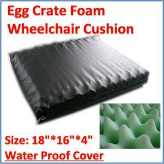 Wheelchair Gel Foam Seat Cushion with Waterproof Storage Bag Chair