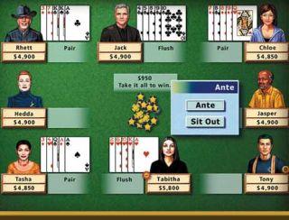 Card Video Computer Games Windows Vista XP Bridge Euchre Canasta Gin
