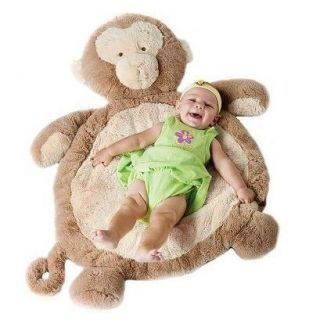 Bestever Inc Monkey Plush Animal Baby Infant Play Mat Gear 02532 New