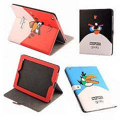 Angry Birds Stand Up Case Cover For Apple iPad 2 black GEAR4