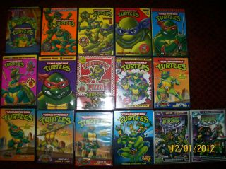 Teenage Mutant Ninja Turtles original dvd series complete season 1 2 3