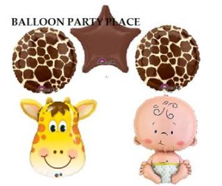 Baby Shower Giraffe Print Chocolate Party Supplies Decorations