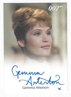 GEMMA ARTERTON Quantum of Solace JAMES BOND Villains Heroes Full Bleed