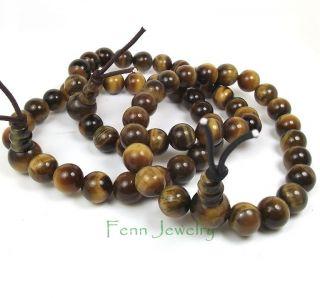 Natural Gemstone Beaded Stretch Power Bracelet Karma Healing Calming