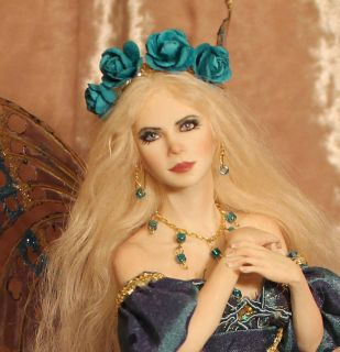 Fairy Aurora Art Doll Sculpture P Gibbons Fairies Art Dolls