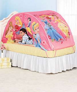 Princess Kids Girl Play Tent For Bed or Floor Pink Childrens Girls