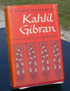 Second Treasury of Kahlil Gibran HB 1962
