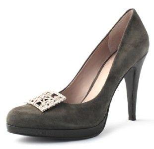 Womens Erica Giuliani Classic Shoe Clip Rhinestones New