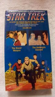 TAS The ANIMATED SERIES VHS Video set RODDENBERRY PERSONAL COPIES LQQK