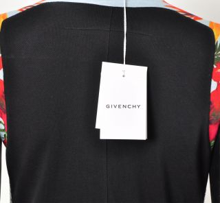 Givenchy RP 2660$ New Multicolor Floral Print Polo Dress FW2012 13