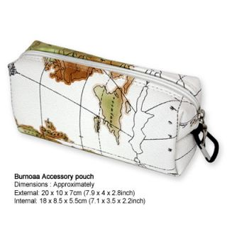 Burnoaa Organizer Bag Accessory Pouch Geographics Laptop Power Cords