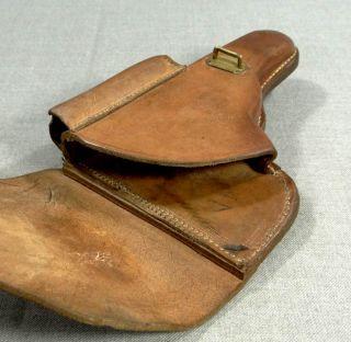 1939 WWII Germany German Officer Luger P08 Pistol Gun Leather Belt