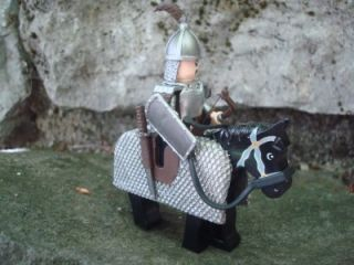 Custom Lego Minifig Castle Genghis Khan Horse Exclusive