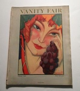 Magazine 1922 Art Deco Paderewski Maxfield Parrish Gilda Gray