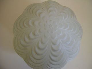 Collectible Vtg Milk Glass Globe Lamp Shade