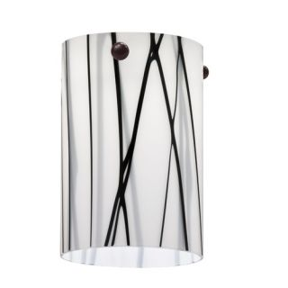 Lithonia Lighting Mini Pendant Glass Short Cylinder Shade