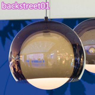 Brown Clear Glass Shade Ceiling Light Pendant Lamp Lighting Fixure New