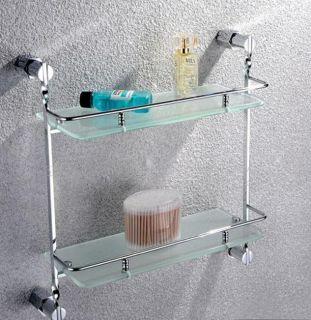 Rack Double Glass Shelf Shelves High Quality Tempered Glass