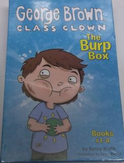 NEW GEORGE BROWN CLASS CLOWN THE BURP BOOK BOOKS 1 4 SET OF 4