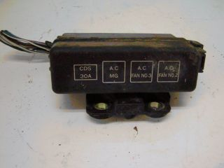 L6 97 Geo Prizm Fuse Box AC Relays 1 6L