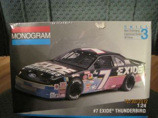 Ford Tunderbird 7 Geoff Bodine Exide Battery Thunderbird Model Kit