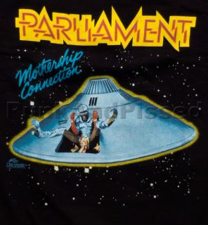 Parliament George Clinton Mothership Connection T Shirt Official Fast