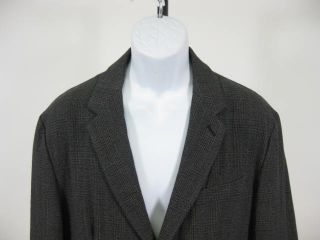 Marc Jacobs Gray Glenplaid Jacket Blazer Coat