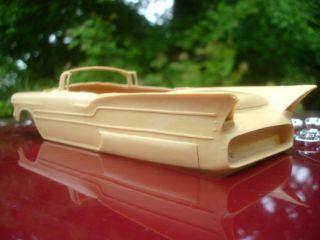 George Barris Aztec Convertible 1 25th R R Resin